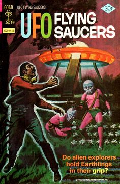 UFO Flying Saucers n°12, 1976.