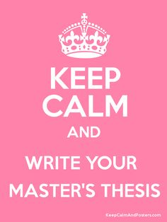 Tips for creating a bibliography and literature review for a masters thesis.