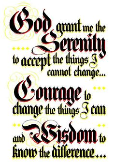 Amen. This prayer is goin to be a tattoo on my left shoulder soon
