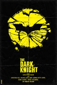 Batman is the best. The Dark Knight Poster By Dan K Norris Classic Movie Posters, Minimal Movie Posters, Movie Poster Art, Posters Batman, Batman Art, Batman Logo, The Dark Knight Trilogy, Batman The Dark Knight, Heath Ledger