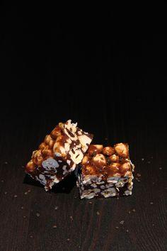 Lakridskaramelbrud med popcorn - Madsymfonien