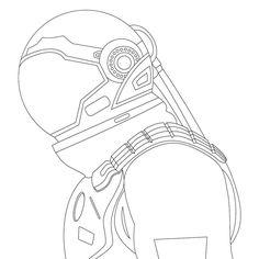 Em desenvolvimento... #ilustração #desenho #vetor #vector #illustration #draw #wip #workinprogress #astronauta #astronaut Drawings, Okay Gesture, Art, Drawing Challenge, Humanoid Sketch