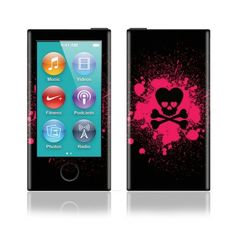Apple iPod Nano (7th Gen) Decal Skin - Skullbaby http://www.fit4skins.com/iPod-MP3-Player/Apple-iPod/Apple-iPod-Nano-7th-Gen/Apple-iPod-Nano-7th-Gen-Decal-Skin-Skullbaby