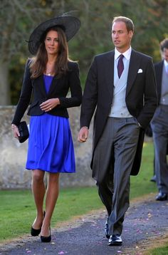 Kate Middleton Photos: Prince William and Kate Middleton at the Church of Saint Peter
