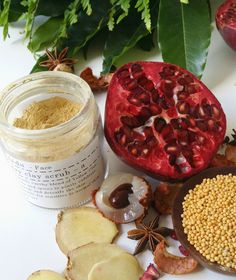 Clay Mask from @aeda Naturals - beautiful product!