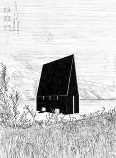 Zeichnung Types Of Architecture, Architecture Collage, Architecture Graphics, Architecture Drawings, Concept Architecture, Perspective Pictures, Perspective Art, Library Drawing, Planer