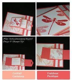 """Le Scrap de Barbara Démonstratrice Stampin'Up: Carte d'anniversaire en cascade sets de tampons """"Awesomely Artistic """" et """"Swallowtail"""" et les Offres Hebdomadaires"""