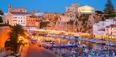 Visit #Ciutadella in #Menorca - located at the western side of the island and is packed full of things to do.