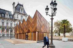 Многофункциональный павильон в Париже