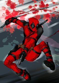 Deadpool Deadpool, Animation, Superhero, Disney, Fictional Characters, Art, Art Background, Kunst, Animation Movies