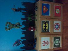 DIY Toddler Super Hero bedroom
