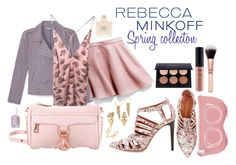 """Rebbeccas Spring Collecton inspired Outfit"" by creamcaramel ❤ liked on Polyvore featuring Rebecca Minkoff, NYX, Balmain, women's clothing, women, female, woman, misses, juniors and contestentry"