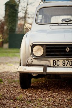 Our Vintage Renault 4L has been in the shop. But it's getting delivered to our house this week. Hooray!
