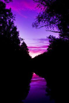 20+ Beautiful Purple Sky Photogarphy Inspirations