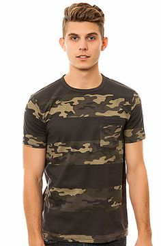 Elwood The Camo Tee in Black, Olive, and Khaki ($14.99)