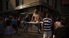 Surf dans la ville par Romain Laurent Photo