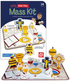 WEE BELIEVERS MY POP-OUT MASS KIT
