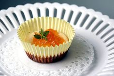 Mini Apricot Cheesecakes