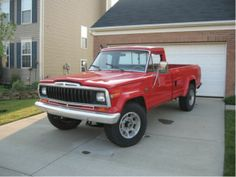 1975 J20 Jeep former fire truck just listed for sale on ...