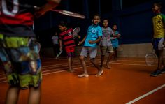 In Rio Slum, a Gleaming Hotbed of ... Badminton? - NYTimes.com