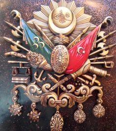 Osmanlı Arması Kağıt Rölyef (Hüseyin Kolay)