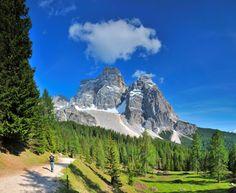 Pelmo mountain, Dolomiti Bellunesi National Park, Veneto, Italy - Luca Da Ros/SOPA RF/Corbis