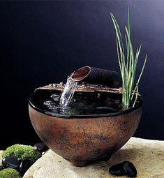 Love this bamboo fountain