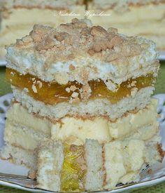 Wysokie, orzeźwiające ciasto bogate w wiele warstw. Słodkość biszkoptu i herbatników równoważy kwaskowaty krem budyniowy, który jest ...