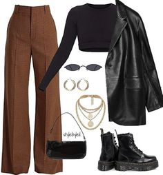 Tomboy Fashion, Teen Fashion Outfits, Retro Outfits, Look Fashion, Streetwear Fashion, Swaggy Outfits, Cute Casual Outfits, Stylish Outfits, Polyvore Outfits Casual