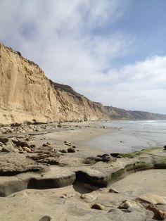 Torrey Pines State Beach in La Jolla, CA