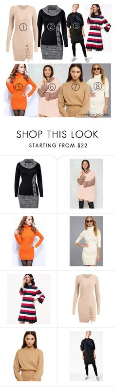 """#402"" by leila-image-style ❤ liked on Polyvore featuring Venus, Nasty Gal, WithChic, LULUS, LOFT, Opening Ceremony and Monki"