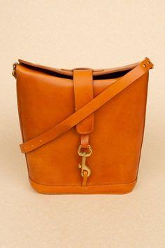 Peter Jensen : large leather angela bag