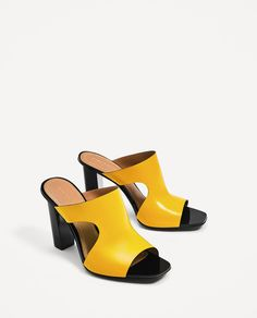 LEATHER HIGH HEEL SANDALS-Heeled sandals-SHOES-WOMAN | ZARA United States
