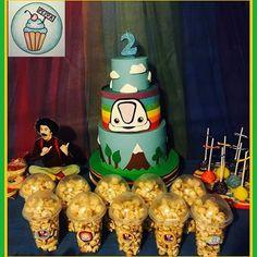 Torta Junior Express   #tortasdecoradas #diseño #cakes #cakestagram #instacake #argentina #love #follow #look #pastry #pastel #peppa #cookies #cupcakes #cumpleaños #cakepops #cookies #cakedesign #caker #buttercream #topa #monorriel