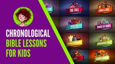 Chronological Bible Lessons For Kids - Sharefaith Magazine Bible Stories For Kids, Bible Study For Kids, Bible Lessons For Kids, Kids Sunday School Lessons, Sunday School Activities, Chronological Bible, Daniel And The Lions, Tower Of Babel, Faith Bible