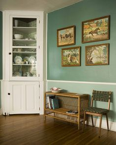 Dining Room Built In Cabinet | HouseObsession | Flickr