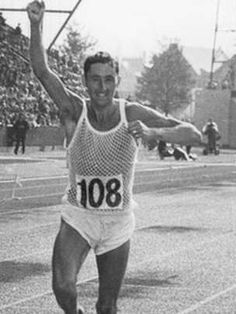 Ron Hill legendary English long distance runner - In 2014 in his 76th year he had totaled 159,106 miles by running a minimum of a mile a day, every day for 50 years !