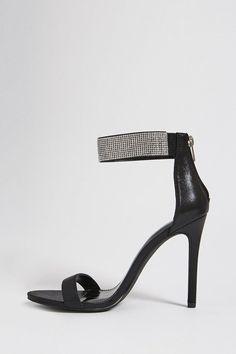5516d3b96af Faux Crystal Stiletto Heels Stiletto Heels