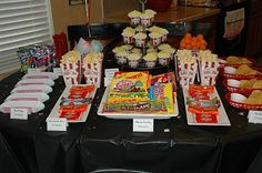 movie party pinspiration
