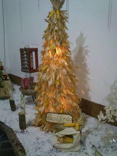 Arbol de Navidad de panochas