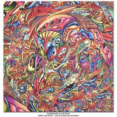 fungalinguistic by luke brown  psychedelic