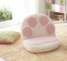 For when we're playing video games!! || Cat paw lounge chairs