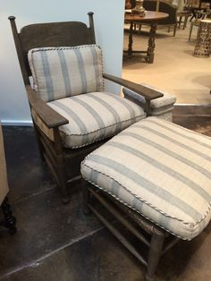 Gregorious Pinneo Lounge Chair Ottoman