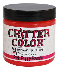 Another great find on #zulily! Dark Pink Critter Color Temporary Fur Dye #zulilyfinds