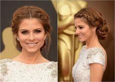 """Coque com tranças é uma boa opção de penteado para madrinhas de casamento! (Mais em """"21 penteados com tranças"""")"""