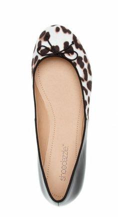 Byrdie Leopard Print Ballet Flat