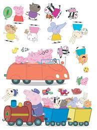 GBP - 20 Peppa Pig Stickarounds Stickers Stickerounds Self Adhesive Bedroom Stickers & Garden Peppa Pig Juegos, Cumple Peppa Pig, Bedroom Stickers, Wall Stickers, Peppa Pig Familie, Familia Peppa Pig, Peppa Pig Wallpaper, Peppa Pig Stickers, Peppa Pig Imagenes