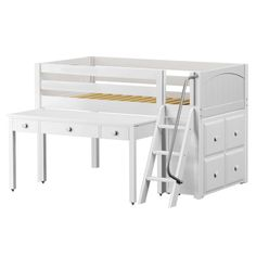Pop over to these men bunk bed plans Bunk Beds For Girls Room, Childrens Bunk Beds, Loft Bunk Beds, Bunk Bed Plans, Metal Bunk Beds, Low Loft Beds, Bunk Beds With Stairs, Kids Bunk Beds