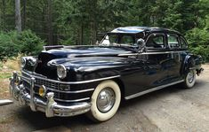 1948 Chrysler New Yorker American Classic Cars, American Muscle Cars, Chrysler Cars, Chrysler Vehicles, Cool Old Cars, Chrysler New Yorker, Us Cars, Dodge Charger, Old Trucks