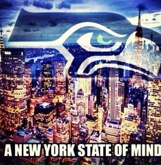 Super Bowl here we come! GO SEAHAWKS!